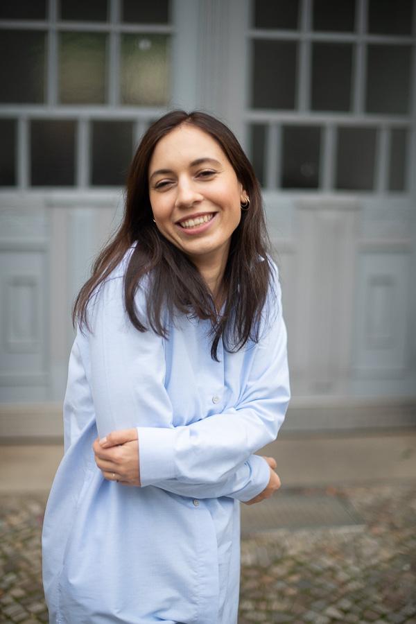 organic basics hemd bluse hellblau