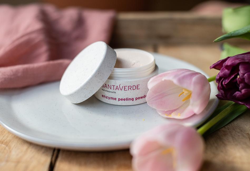santaverde enzym peeling powder